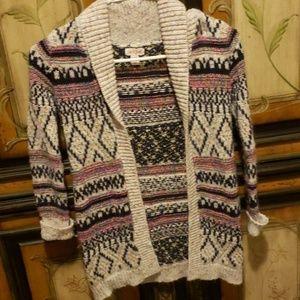 Girls cat & jack sweater